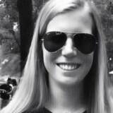 Megan Rondini her i et udateret foto fra Twitter - tilsyneladende fra gladere dage på University of Alabama.