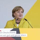 Angela Merkel er blevet styrket i sin personlige overbevisning om nødvendigheden af at styrke den europæiske integration, hvis hun bliver valgt til en fjerde embedsperiode, sagde hun lørdag i en tale i Østersøbyen Zingst to måneder før det tyske parlamentsvalg,