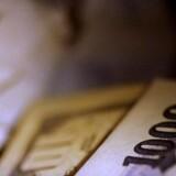 Arkivfoto. Det britiske pund er steget kraftigt. Meget positivt er priset ind, især forventninger om engelske renteforhøjelser.