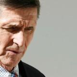 Michael Flynn er efter stævning fra efterretningskomité gået med til at udlevere dokumenter i sag om Rusland. Arkivfoto. REUTERS/Jim Bourg/Files