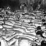 Overlevende fortæller om grusommheder som en del af hverdagen i Syriens berygtede Saydnaya-fængsel. Illustration. Amnesty International / Mohamad Hamdoun