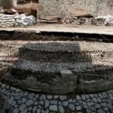 Midt i Mexico City har arkæologer fundet resterne af et tempel, dedikeret til den azteciske vindgud.