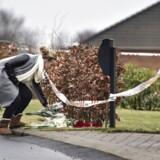 Årets første drabssag skete i januar, da seks personer blev fundet døde i et parcelhus i Ulstrup sydvest for Randers. Faderen havde taget sin kone og fire børn med sig i døden.