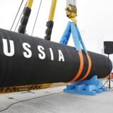 De russiske gasleverancer til Tyskland skal ifølge planen gå via Nord Stream 2-rørledningen, der skal føres gennem Østersøen.