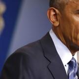 ARKIVFOTO Barack Obama taler på et pressemøde i det hvide hus d. 16. december 2016