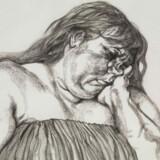 Det er ikke de mest flatterende sider af sine medmennesker, Lucian Freud fastholder i sine billeder som »Kvinde med tatovering« fra 1996. Pressefoto