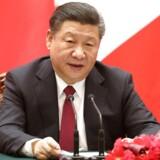 Den kinesiske præsident Xi Jinping.