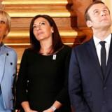 Efter et møde mellem François Hollande og Emmanuel Macron har Frankrig officielt fået ny præsident.. REUTERS/Charles Platiau