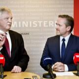 Danske interesser var det altoverskyggende tema, da udenrigsminister Anders Samuelsen (LA) torsdag havde besøg af den britiske brexit-minister, David Davis.