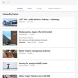 Google indsamler nyhedsartikler, så man kan søge dem i et overblik, mens nyheder - ifølge ni store nyhedsbureauer - er den næstvigtigste grund til, at folk bruger Facebook.