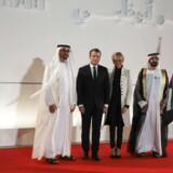 »Et afgørende vendepunkt i vore forbindelser til De Forenede Arabiske Emirater,« erklærede den franske præsident, Emmanuel Macron, der på sit første besøg i Mellemøsten efter indsættelsen i sit embede.