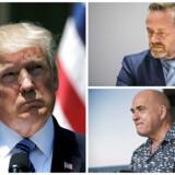 Twitter-diplomativet skal stoppe, mener DFs udenrigsordfører Søren Espersen. Anledningen er, at udenrigsminister Anders Samuelsen på Twitter taler med store bogstaver til USAs præsident Donald Trump, som på samme medie angriber pressen. Endnu en gang.