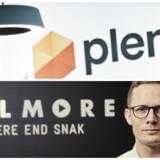Plenti bliver om en måned budt indenfor hos Telmore, hvor administrerende direktør Jens Grønlund blandt andet står klar med fuld musik. Arkivfoto: Plenti og Lars Bech, Telmore