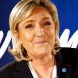 Marine Le Pen, formanden for det meget højreorienterede parti Front National, stiller blandt andet op til præsidentvalget.