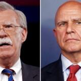 Tidligere FN-ambassadør John Bolton erstatter general H.R. McMaster. Det skriver Trump på Twitter.