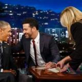 Barack Obama gæstede Jimmy Kimmel Live!