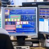 De europæiske aktiemarkeder halter stadig efter trods tirsdagens stigninger på de amerikanske aktier. Arkivfoto: Jens Nørgaard Larsen/Scanpix.