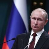 Vladimir Putin, Ruslands præsident. Fotograferet i Ankara, Tyrkiet.