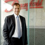 Administrerende direktør i Danfoss, Kim Fausing, præsenterer resultaterne for årets første tre måneder. Foto: Danfoss