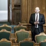 Justitsminister Søren Pape Poulsen (C) i folketingssalen før Folketingets åbning, tirsdag den 3. oktober 2017. (Foto: Mads Claus Rasmussen/Scanpix 2017)