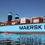 Volumenen af skibe med Dannebrog agter er vokset med mere end en femtedel på bare et halvt år. Maersk Lines indflagning af skibe fra Hamburg Süd driver udviklingen
