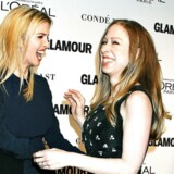 Ivanka Trump and Chelsea Clinton til Glamour Women Of The Year Awards i 2014. De to veninder optræder dog ikke sammen under valgkampen.