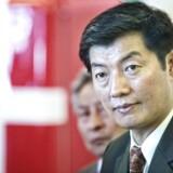 Arkivfoto: Lobsang Sangay besøger Danmark, efter at Kinas præsident, Xi Jinping, blev genvalgt og styrket ved kommunistpartiets 19. kongres i Beijing.