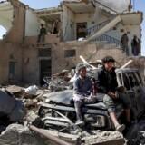Krigen i Yemen, der har varet i 2,5 år, er en af de regionale konflikter, Saudi-Arabien spiller en hovedrolle i. 14. november 2016 / AFP PHOTO / MOHAMMED HUWAIS