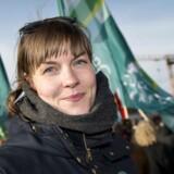 Helene Møller er ny lærer og savner fokus på kvalitet i arbejdet. Offentligt ansatte demonstrerer på Bertel Thorvaldsens Plads i København i forbindelse med overenskomstforhandlingerne 2018.