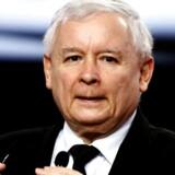 Jaroslaw Kazynski vil gøre Polen stort igen via en populistisk saltomortale. Arkivfoto: Kacper Pempel/Reuters
