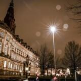 Slotsholmen, deriblandt Christiansborg og Justitsministeriet.