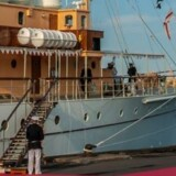 Dronning Margrethe og prins Henrik stikker til søs for at fejre parrets guldbryllup om bord på kongeskibet Dannebrog. Free/Colourbox