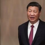 Arkivfoto. Kinas leder, Xi Jinping, er landet i Hongkong i anledning af 20-året for, at briterne gav kolonien tilbage.