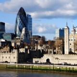 London formår stadig - trods udsigten til et snarligt farvel til EU - at trække teknologiinvesteringer til sig. Arkivfoto: Shutterstock/Scanpix