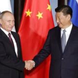 De to magtfulde statsledere har intensiveret samarbejdet, og de mødtes også for at drøfte en bred vifte af emner, forud for et G20-topmøde i Hamburg i juli.