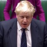 Den britiske udenrigsminister, Boris Johnson, undskyldte mandag for at have skabt bekymring og usikkerhed med bemærkninger om en kvindelig britisk-fransk nødhjælpsarbejder, som sidder fængslet i Iran. / AFP PHOTO