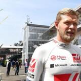 Kevin Magnussen måtte se sig besejret af teamkollegaen Romain Grosjean i Brasilien. Photo: Grand Prix Photo
