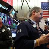 New York Stock Exchange (NYSE) i New York City. (Foto: Spencer Platt/Getty Images/AFP)