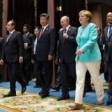 Valget af Donald Trump til amerikansk præsident skaber forventninger til Angela Merkel som vestens reeelle leder.