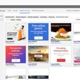 De netsteder, som bruger Googles annonceværktøj AdSense til at administrere, hvilke annoncer der skal vises, bliver indimellem snydt, fordi visse annoncer slipper igennem Googles filter, som nu finmaskes yderligere. Foto: Google