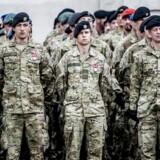 Arkivfoto. Langt flere skal uddannes til militære opgaver som værnepligtige, mener DFs forsvarsordfører, Marie Krarup.