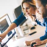 2017 er begyndt godt for de danske IT-virksomheder, og der er kommet mange flere i arbejde i branchen. Arkivfoto: Shutterstock/Scanpix