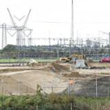 Allerede for et år siden begyndte byggeriet af Apples første datacenter i Foulum ved Viborg. Siden har Facebook valgt Odense til sit tredje datacenter uden for USA, og Apple har besluttet også at bygge ved Aabenraa. Arkivfoto: Henning Bagger, Scanpix