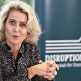 Direktør for Microsoft Danmark Marianne Dahl Steensen ses her på Disruptionsrådets pressemøde på Hotel Comwell i Rebild Bakker, tirsdag den 5. december 2017.