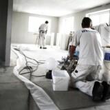 Det er mest udbredt at få betaling for overarbejde i bygge- og anlægsbranchen, viser ny arbejdskraftundersøgelse fra Danmarks Statistik. Arkivfoto: Jeppe Bjørn Vejlø