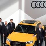 Arkivfoto. Mens VW slås med gigantisk skandale om snydesoftware, siger tysk minister, at Audi har snydt med udledning.