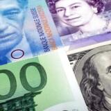 Missiluro giver efterspørgsel efter sikre yen og franc