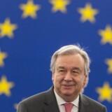 Der er brug for et samlet EU i FN, der kan lede dialog om migration og klima, lyder det fra António Guterres.