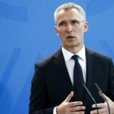 Arkivfoto. Det vækker glæde hos Nato, at den danske regering lægger op til at hæve forsvarsbudgettet.