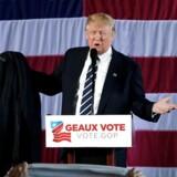 Donald Trump tror ikke på, at russerne stod bag omfattende hacking under valget. REUTERS/Mike Segar